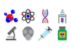 Free Neuron Partikel und Chemical Stuff Vektor