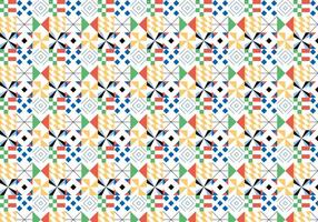 Färgrikt geometriskt mönster vektor