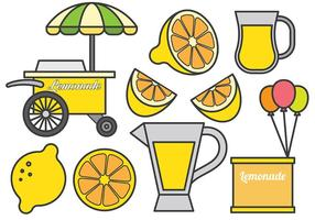 Free Lemonade Stand Symbole Vektor