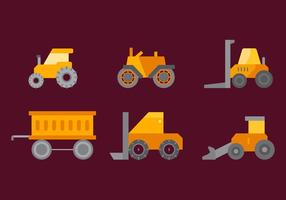 Fri traktordäckvektor 4