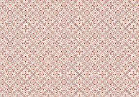 Röd skisserad mönster