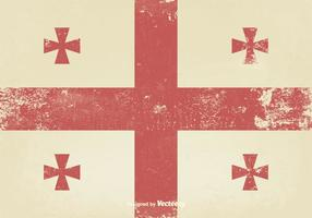 Gammal medeltida flagga vektor