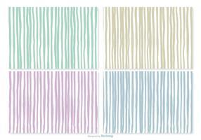 Handdragen Stripe Patterns
