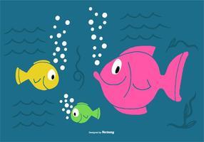 Seefisch-Vektoren vektor