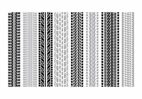 Reifenmarken Set vektor