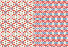 Stich Mosaik Muster vektor