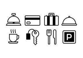 Kostenloses Hotel Icons
