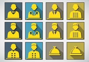 Concierge Services icon Stock Vektorgrafik
