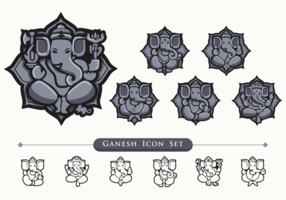Ganesh Icon Set