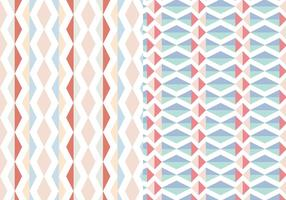 Abstrakt Geometrisk Pastellmönster
