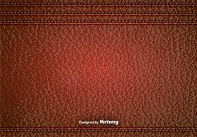 Vector Red Leder Textur