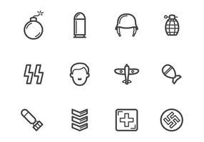 Gratis världskrig 2 ikoner