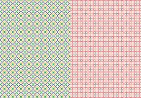 Stichgeometrisches Muster vektor