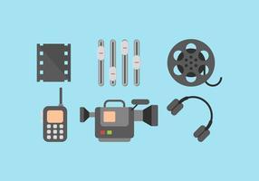 Kostenlose Videobearbeitung Vektor 1