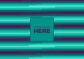 Free Vector Teal Logo Hintergrund