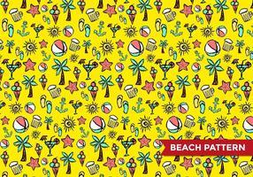 Strand mönster vektor