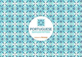 Vektor portugisiska Tile Pattern