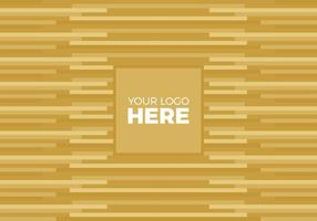 Gratis Vector Gold Logo Bakgrund