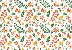 Free Batik Hintergrund Vektoren