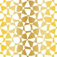 nahtloses goldweißes Muster vektor