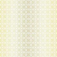 nahtloses goldenes geometrisches Muster vektor