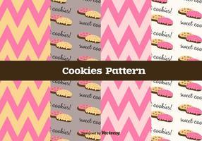 Free Cookies Vektor Muster