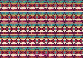 Gratis indianskt mönster vektor