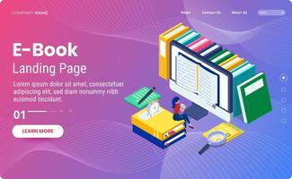 E-Book-Landingpage-Vorlage
