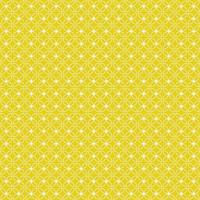 gula och vita blommor geometriska sömlösa mönster