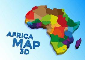Afrika Karta Vector Gratis