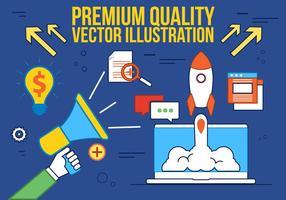 Gratis Digital Media Vector Illustration