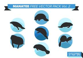 Manatee free vector pack vol. 2