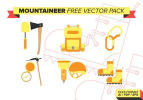 Bergsklättrare Gratis Vector Pack