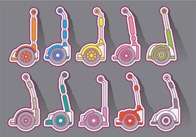 Segway Vektor Icons