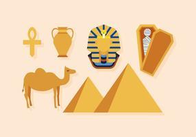 Vektor Egypten ikoner