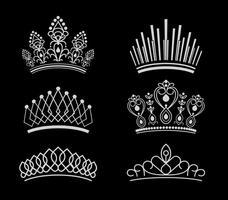 Free Pageant Crown Vektoren