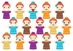Marionetten-Emoticons