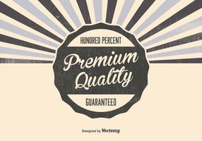 Retro Premium Qualität Hintergrund vektor