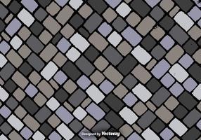 Cartoon Square Stones Textur - Vektor Hintergrund
