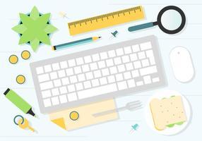 Gratis arbetsrum vektorverktyg