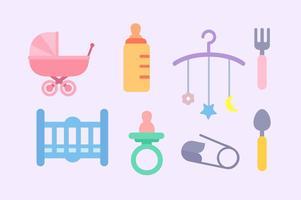 Kostenlose Baby-Elemente Vektor