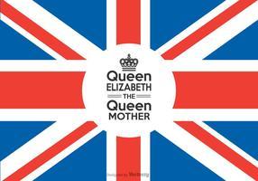 Fri drottning Elizabeth drottningmodern vektor