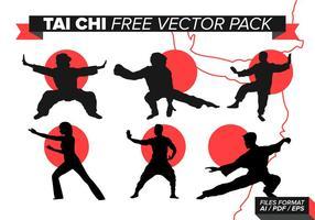 Tai Chi kostenlos Vektor Pack