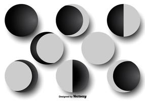 Mondphasen-Ikonen