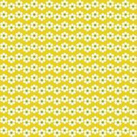 retro blomma rand sömlösa mönster