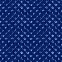 nahtloses Muster der blauen Seesterne