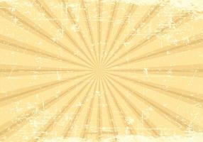 Grunge Sunburst Vector Bakgrund