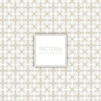 Vintage dekoratives Muster mit weißem quadratischem Rahmen