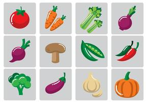 Gemüse Vektor-Illustration vektor