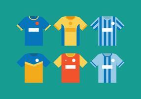 Vektor Fußball Jersey